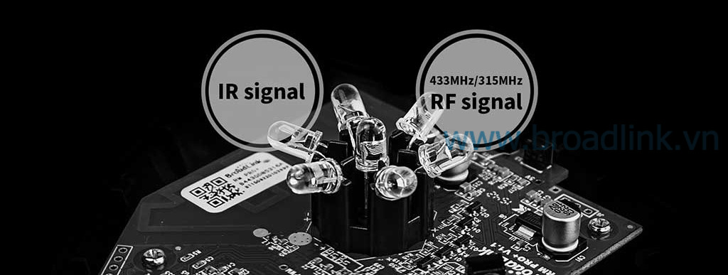 RM-Pro hỗ trợ các thiết bị IR và RF