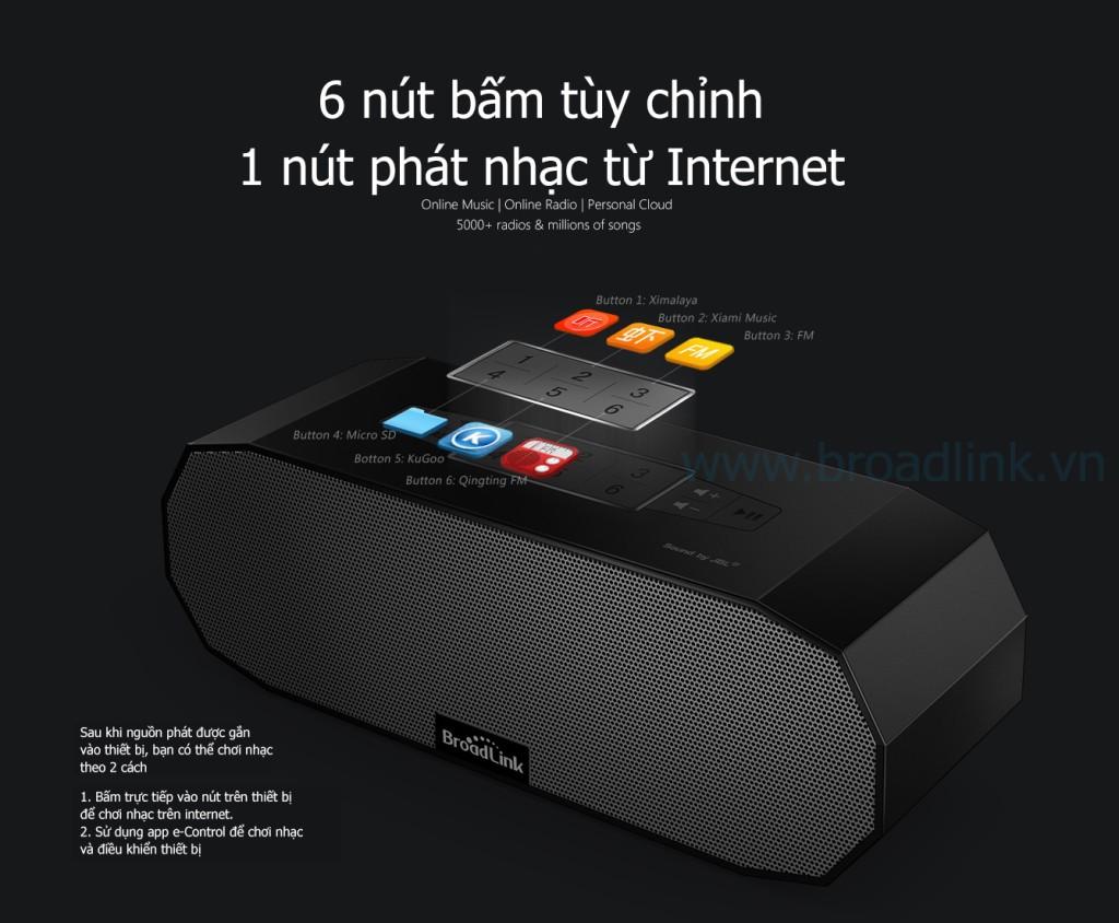 Loa wifi cao cấp Broadlink MS1