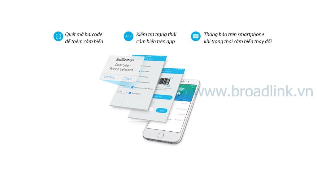 Với app E-control, bạn có thể điều khiển mọi thứ liên quan đến an ninh nhà bạn với smartphone