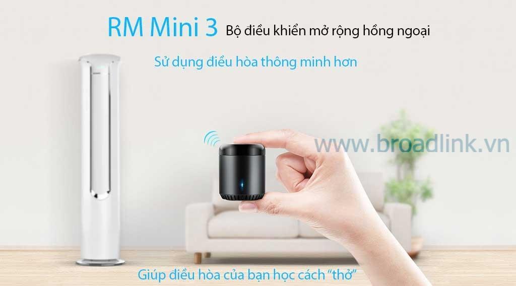 Bộ điều khiển hồng ngoại mở rộng RM Mini 3 bạn của điều hòa