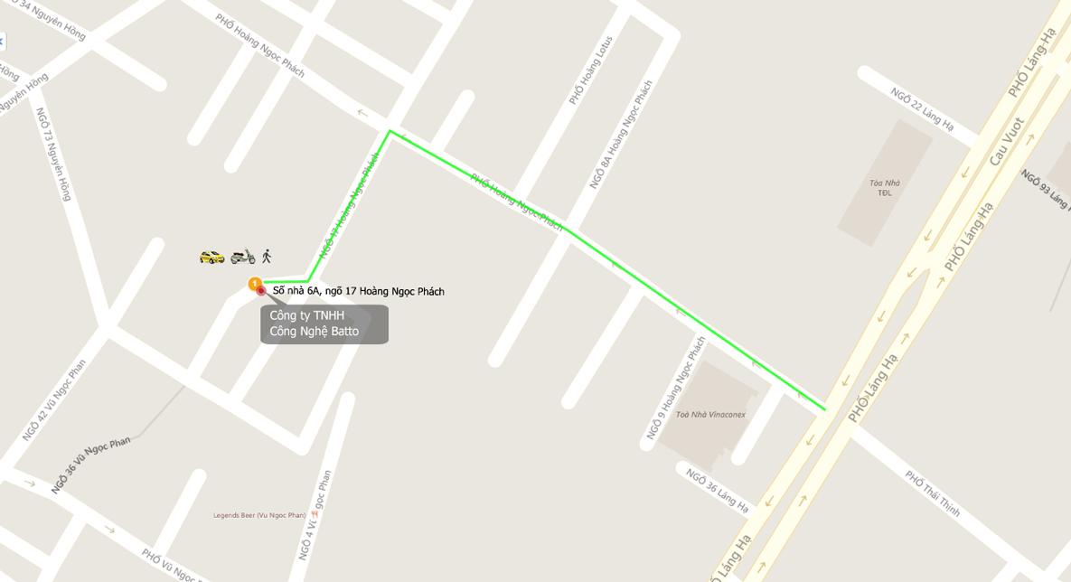 Bản đồ tới Broadlink Việt Nam