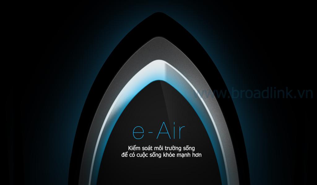 Kiểm soát môi trường sống Broadlink A1 e-Air