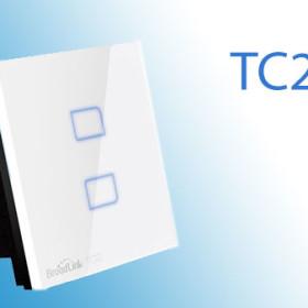 Công tắc cảm ứng chạm điều khiển từ xa Broadlink TC2