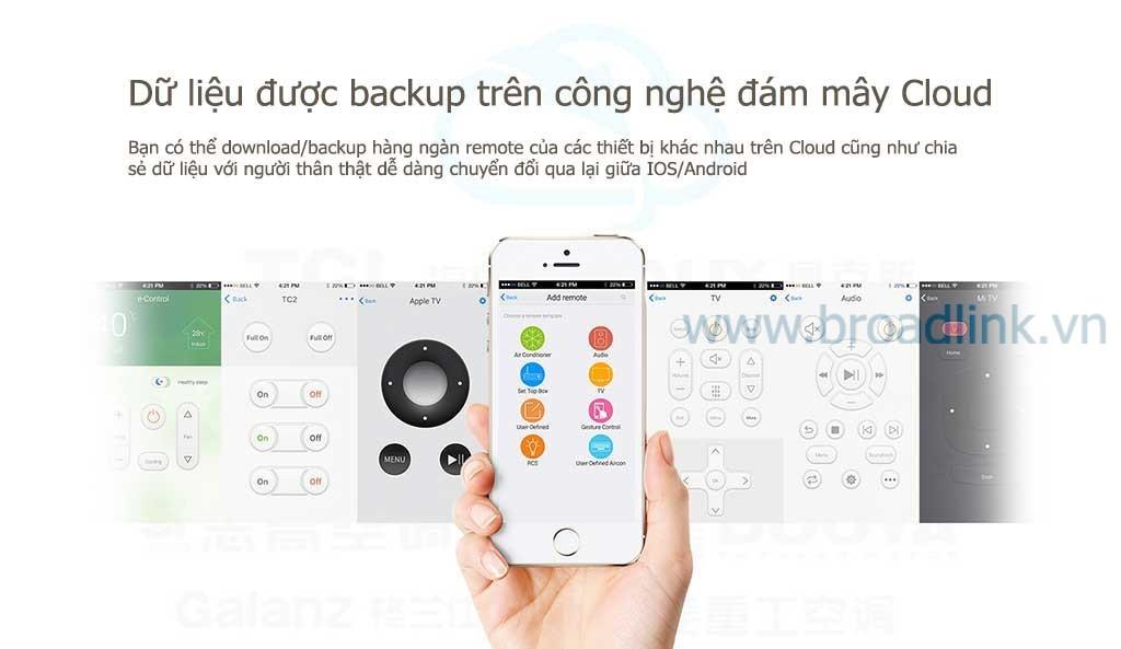 RM-Pro hỗ trợ công nghệ đám mây