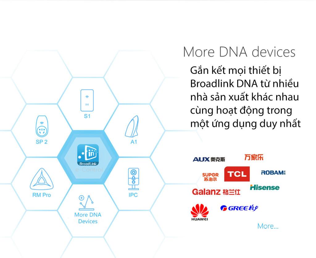 e-Control - tất cả thiết bị Broadlink DNA hoạt động trong cùng 1 app