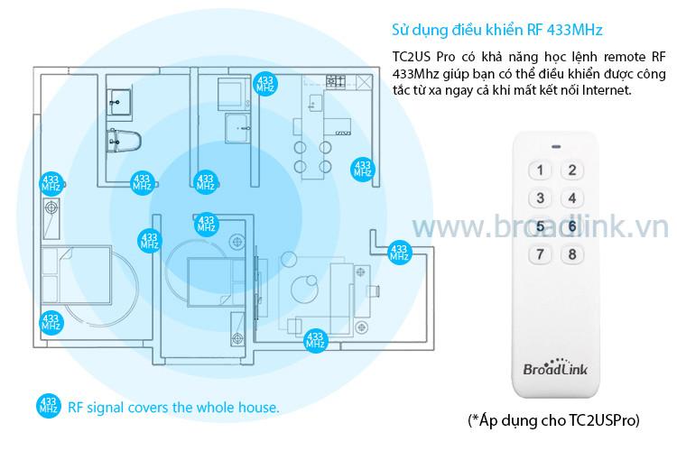 broadlink TC2USPRO hoc lenh remote r26b