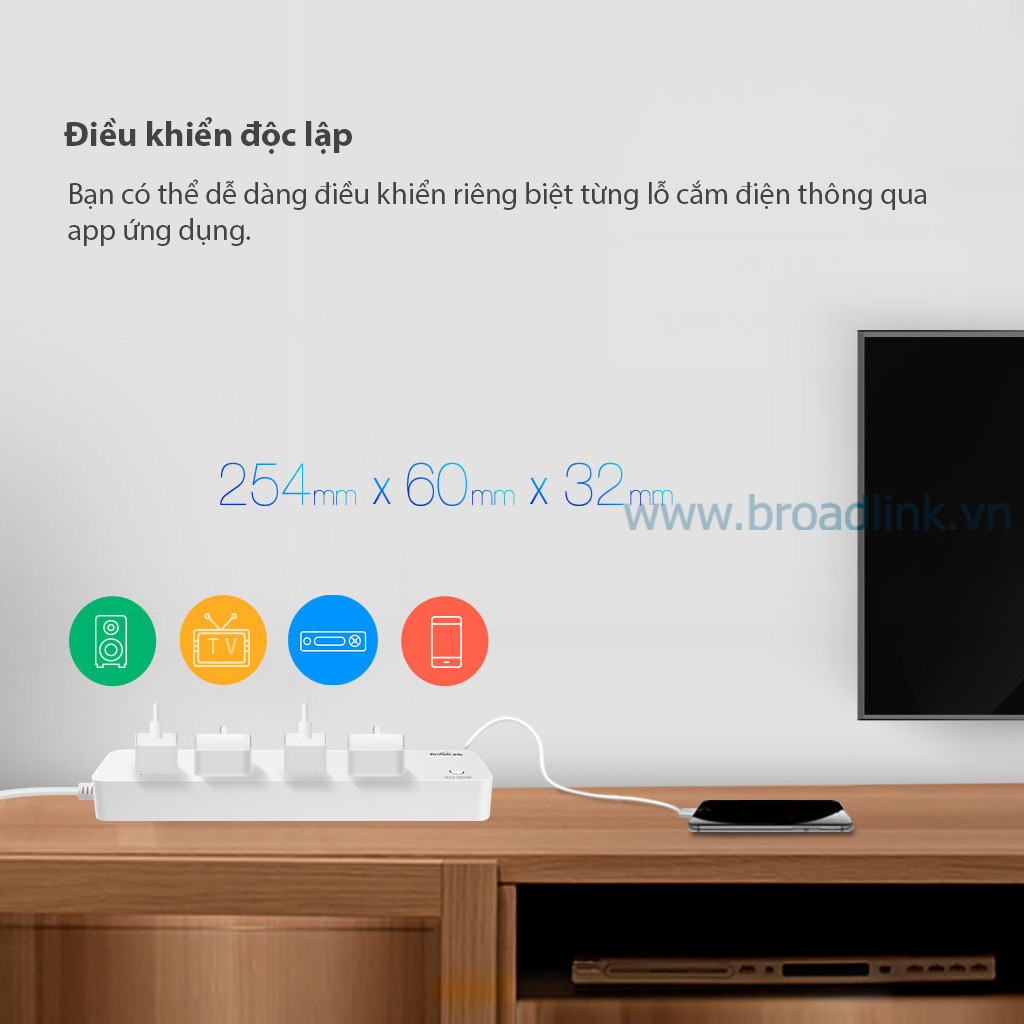 broadlink mp1 dieu khien doc lap